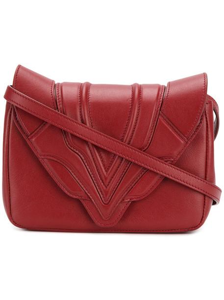 Elena Ghisellini cross women bag leather red