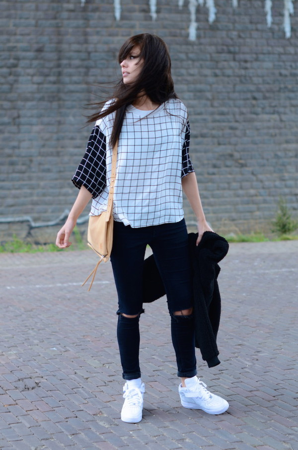 lovely by lucy blogger jeans bag shirt
