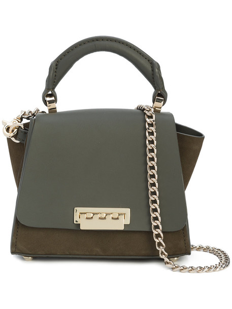 ZAC Zac Posen women leather green bag