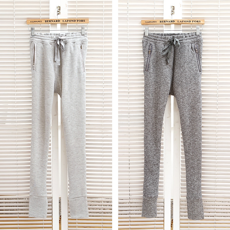 132046 autumn 2013 zipper drawstring casual trousers loose harem pants sports pants-inPants & Capris from Apparel & Accessories on Aliexpress.com