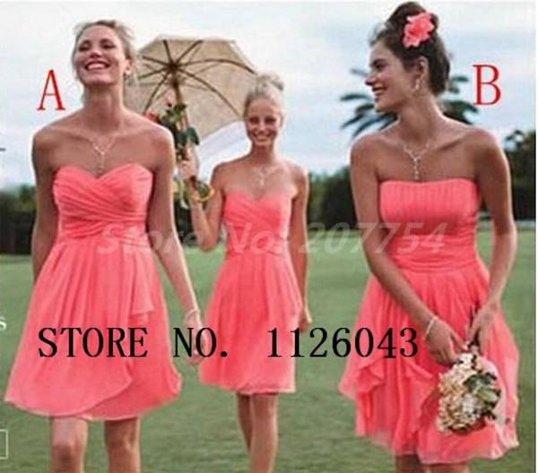coral bridesmaid dress short bridesmaid dress bridesmaid 2014 bridesmaid dress short party dress party dress 2014 party dress short prom dress prom dress 2014 prom dress