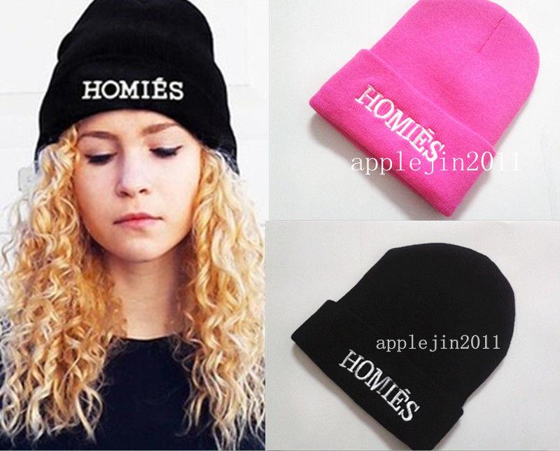 NEW Homies Style Fashion MEN Women Skull Beanie HAT Winter ... 616ef98fc5c