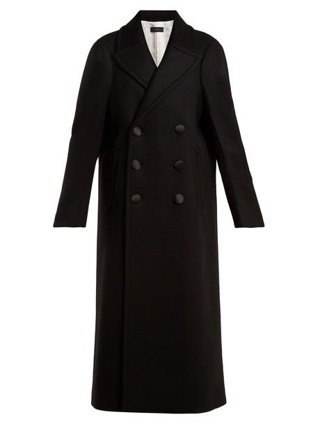 Joseph coat oversized wool black