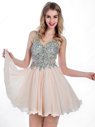 dress prom pink homecoming dress sparkle silver girly feminine dressofgirl