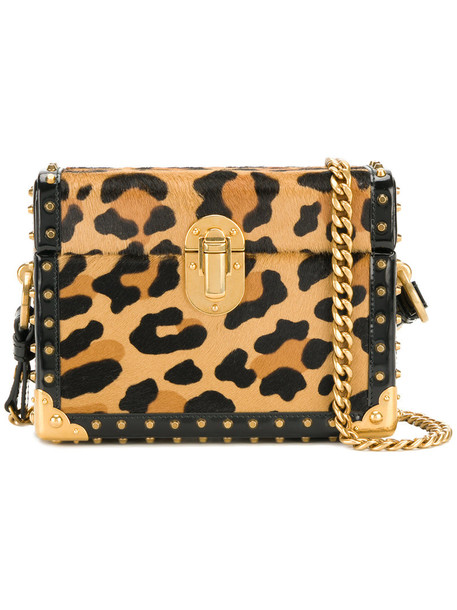 women bag leather print brown leopard print