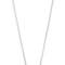 Jennifer zeuner jewelry mini wishbone necklace - silver