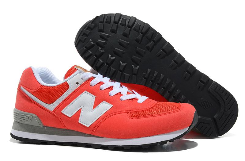 womens red new balance shoes