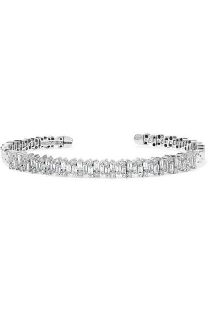 Suzanne Kalan - 18-karat White Gold Diamond Cuff