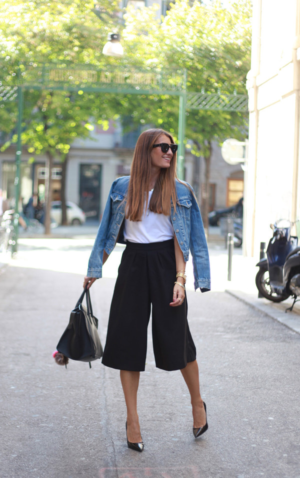 b a r t a b a c blogger jacket t-shirt bag culottes
