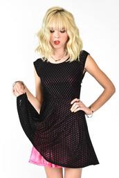 dress,minty jungle,velvet,burnout,pink,satin,silk