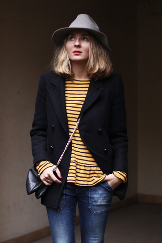 jeans jane's sneak peak blogger bag hat stripes