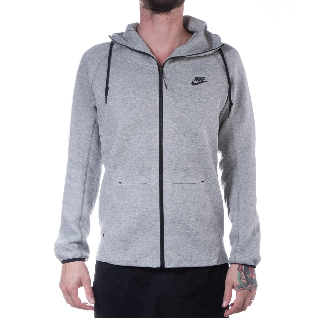 46e68ccf72a5 Nike 2 in 1 Tech Jacket (Grey   Black)