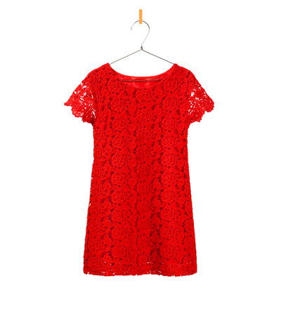 6b8c70a0 EMBROIDERED DRESS - Dresses - Girl - Kids | ZARA United States