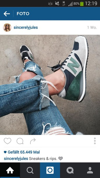 shoes grey forest green green black new balance sneakers