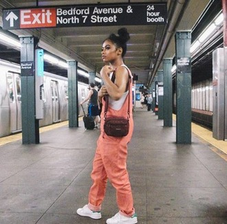 jumpsuit london zhiloh all pink overalls new york city