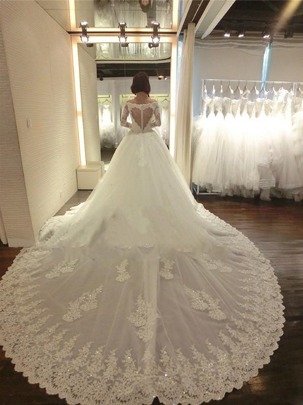 hannah quinlivan wedding dresses 2016 chapel train vintage lace long