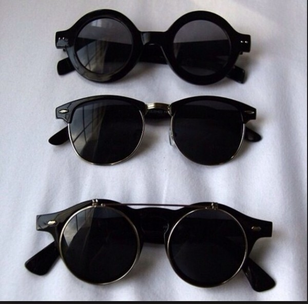 sunglasses grunge black