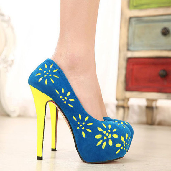 shoes platform pump