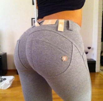 pants leggings tights grey sweatpants
