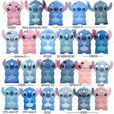 3D Cute Disney Lilo Stitch Series Animals Silicone Soft Case Cover Mobile Phone | eBay