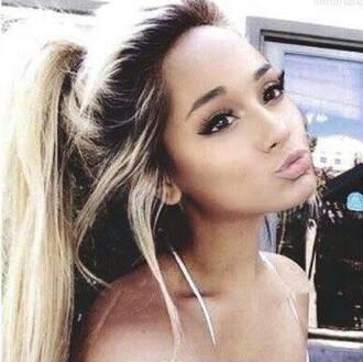 make-up blonde hair girl perfect girl foundation lipstick eyeliner hair/makeup inspo
