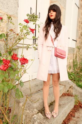 the cherry blossom girl coat bag dress shoes