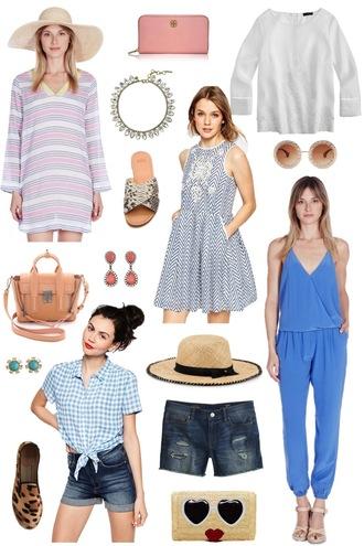 sequins and stripes blogger top jewels dress sunglasses bag shoes shirt hat shorts jumpsuit