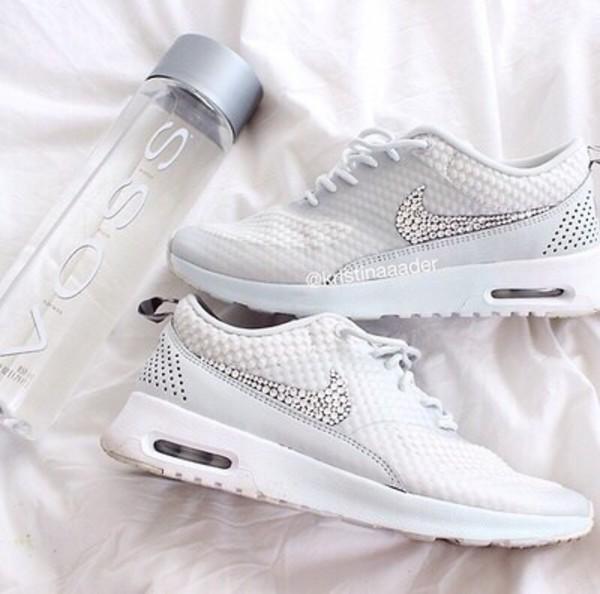 Nike Air Max Thea Blanche Strass