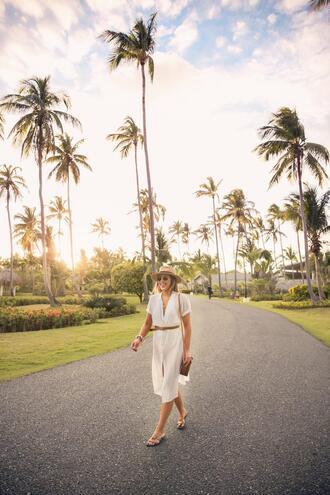 stephanie sterjovski - life + style blogger hat jewels belt swimwear bag shoes sunglasses