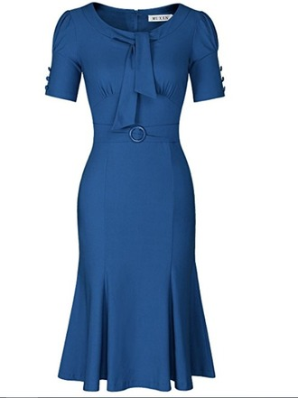 dress navy dress vintage dress bodycon dress blue dress prettydress retrodress lady boots blueboots pin up pin-up dress pinupdress vintage rockabilly navypinup