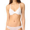 Only hearts second skins racer back bra - white