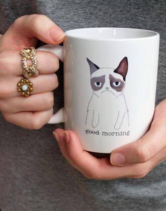 belt grumpy cat mug kitchen hipster