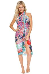 swimwear,cover up,style me,bikiniluxe,printed pareo,women,summer outfits,summer,beach,pool party,miami,fashion,lulifama