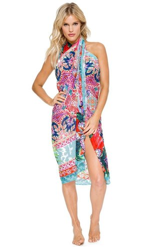 swimwear cover up style me bikiniluxe printed pareo women summer outfits summer beach pool party miami fashion lulifama
