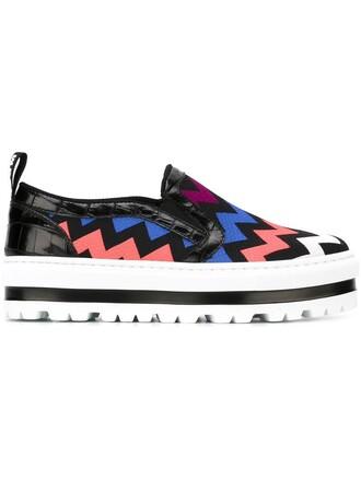 sneakers platform sneakers pattern chevron black shoes