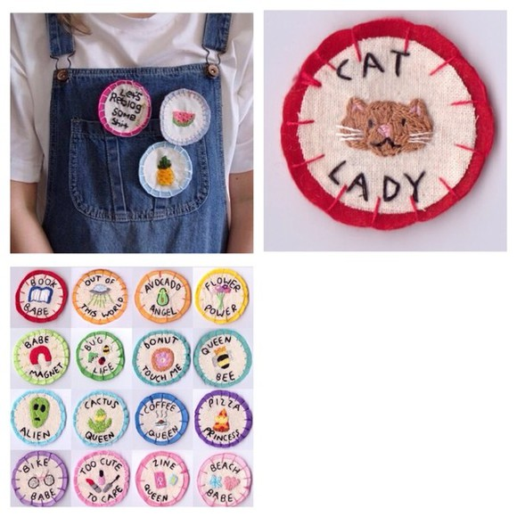 cats jewels tumblr patches indie kawaii cute