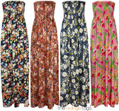 dress,long,maxi,maxi dress,floral,summer,spring,evening dress,strapless,sexy,trendy,festival,grecian maxi dress,coachella,floral maxi dress