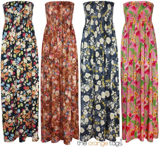 Summer maxi dresses ebay