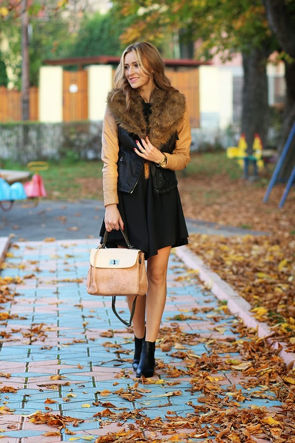 fashion spot dress jacket bag shoes