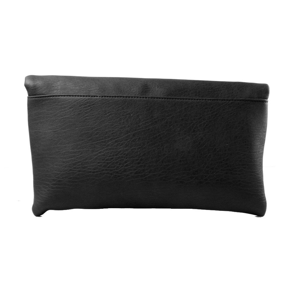 Black Slouch Clutch Bag | Accessoryo
