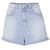 Internet Exclusive - Bleach High Waist Mom Shorts - Topshop