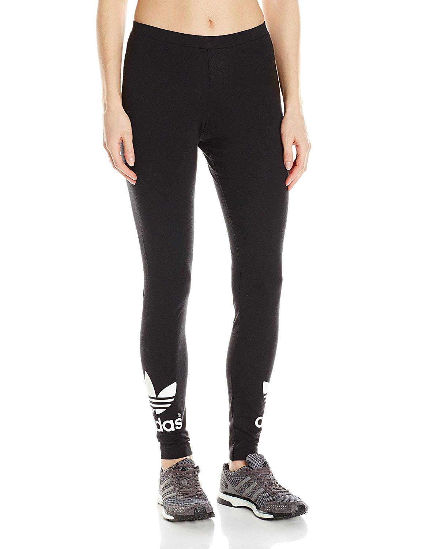 7a1f7e80adae6 adidas Originals Women's Trefoil Leggings at Amazon Women's Clothing store: