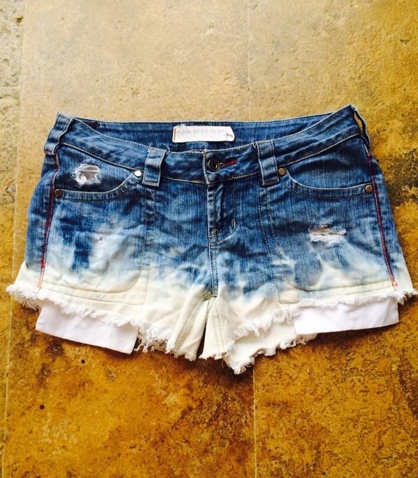 shorts outfit pretty blue white