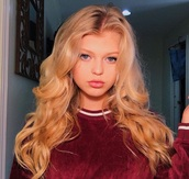 sweater,loren gray,loren beech,red,velvet
