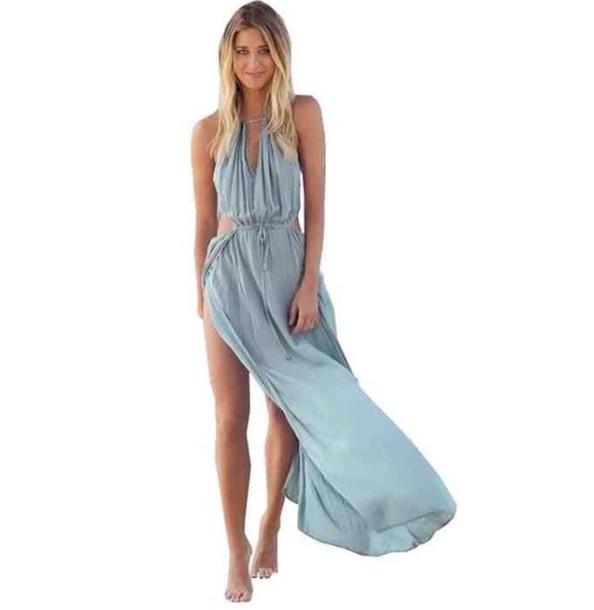 dress blue dress maxi dress summer dress