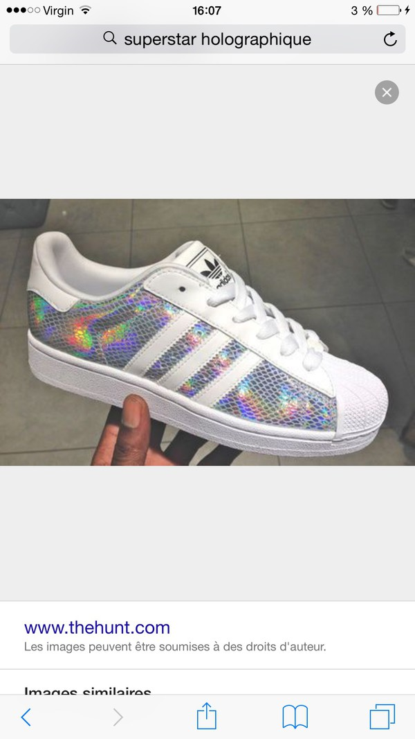 Superstar Adidas Hologram