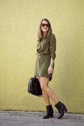 sequins and stripes,shirt,dress,belt,shoes,bag,jewels,sunglasses