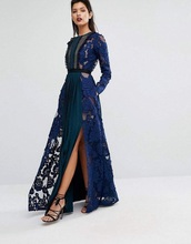dress,navy,maxi dress,flowers,dark blue
