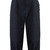 Scallop-edged cropped cotton cargo trousers