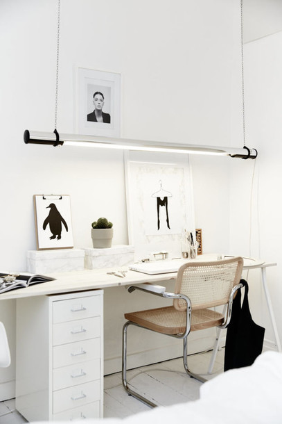 home accessory suspended lighting office supplies white scandinavian style minimalist home decor